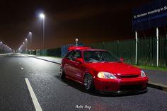 Luke's Honda Civic EK hatch via CarterBray on Flickr