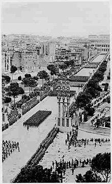 Via dei Fori Imperiali Fascismo - Wikipedia