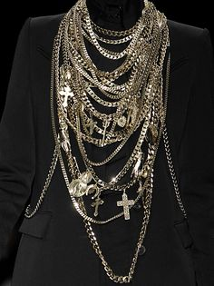 givenchy 2008 - some serious layering