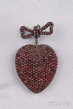 Bohemian Garnet Pendant