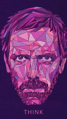 Gregory House, Dr House Quotes, Medical Series, Mejores Series Tv, Everybody Lies, Best Movie Lines, Polygon Art, Grey Anatomy Quotes, House Md
