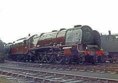 46251 City of Nottingham, Willesden Depot Steam Trains Uk, Old Steam Train, Abandoned Train, Abandoned Places, Diesel Locomotive, Steam Locomotive, Choo Choo Train, Steam Railway, Train Times