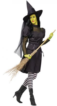 Miss Wicked Witch Costume
