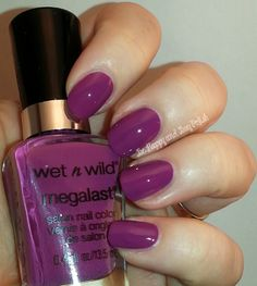 Wet n Wild Through a Grapevine #RadiantOrchid #nailpolish | Be Happy And Buy Polish