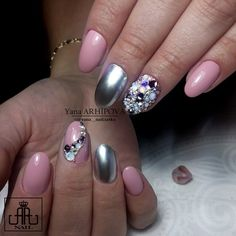 Студия ногтевого сервиса в Самаре Swarovski Nails, Beauty, Decor, Decoration, Decorating, Beauty Illustration, Deco