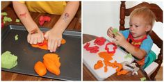 Looking for a fun sensory activity? Try making jello playdough! It smells amazing and it is so smooth. This may be my favorite playdough we have ever made! Here's what you need: 1 cup flour 1 cup w...