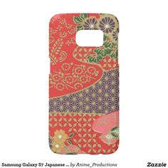 Samsung Galaxy S7 Japanese Floral Quilt Phone Case Samsung Galaxy S7 Case