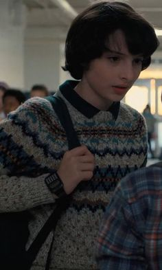 Gotta appreciate his sweater tho