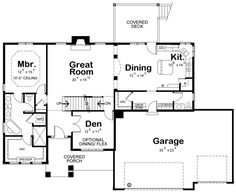 Plan No.153052 House Plans by WestHomePlanners.com