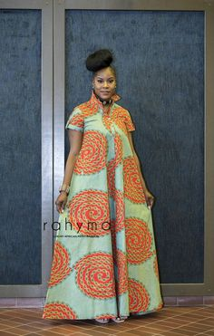 African fashion is available in a wide range of style and design. Whether it is men African fashion or women African fashion, you will notice. Latest African Fashion Dresses, African Dresses For Women, African Print Dresses, African Print Fashion, Africa Fashion, African Attire, African Wear, African Traditional Dresses, Traditional Outfits