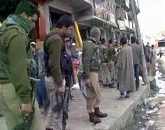 Security tightened after a grenade blast at Goriwan chowk in #Bijbehara (Anantnag J&K).