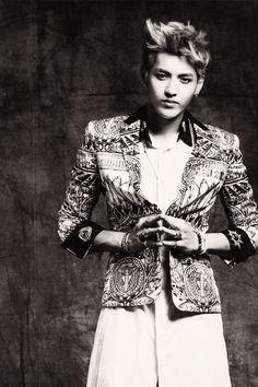 Dont miss 2014 EXO Kris KPOP Haristyle Wallpaper HD Wallpaper. Get all of EXO Exclusive dekstop background collections.