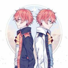 The precious twins of mystic messenger || Saeyoung - Saeran