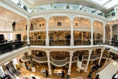 Cărturești Carusel Bookstore in Bucharest | #amazing #bookstore | photo by Ciprian.