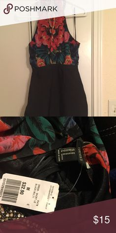 Forever 21 cute homecoming or dinner party dress! NWT! Super cute forever 21 party dress! Size medium Forever 21 Dresses Strapless