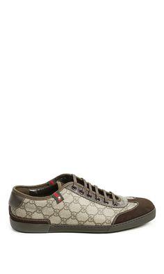 Gucci Barcelona Tennis Sneaker in Brown for Men