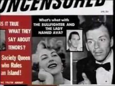 """Ava Gardner """"Mysteries & Scandals"""" Produced by Danny Schwartz, Alison Ma..."""