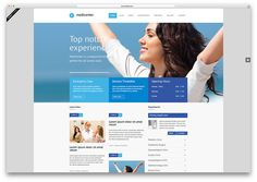 Mist one page medical html5 website template | Health & Medical ...