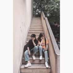 Ulzzang Couple, Ulzzang Girl, Dedicated Follower Of Fashion, Avatar Couple, Night Skies, Lesbian, Boy Or Girl, Handsome, Couples