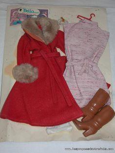 Les Poupees D'autrefois - BELLE TENUE DE CATHIE DE BELLA SUR SON CARTON ETAT NEUF Vintage Barbie, Barbie Clothes, Childhood, Shirt Dress, Dolls, Photos, Shirts, Fashion, Porcelain Doll