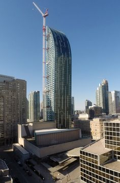 Second Place - Lightweight Steel Framing. Bailey Metal Products - L Tower - Toronto, ON