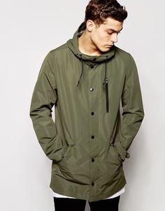 River Island Rain Jacket with Hood