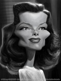 Katharine Hepburn Second attempt. I will... - Thierry Coquelet
