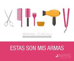Con estas armas mis clientas se van contentas!!! #BRASILCACAU