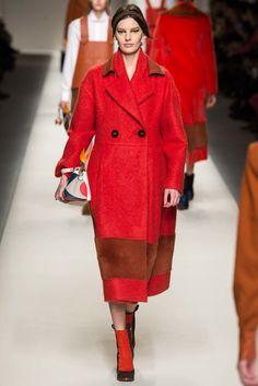 Fendi Fall 2015 Ready-to-Wear Fashion Show - Doutzen Kroes