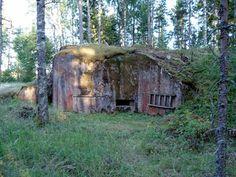 Harparskog Linie - Bunker 304 - Skogby - Bunker, Helsinki, Finland, Plants, Travel, Line, Viajes, Destinations, Plant
