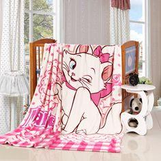 Disney poes Marie fleece deken 150x200