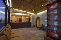 medical office layout | Medical Office Interior Design – Details About Modest Office Space ...