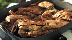 Pečený králík — Recepty — Herbář — Česká televize Steak, Pork, Kale Stir Fry, Steaks, Pork Chops
