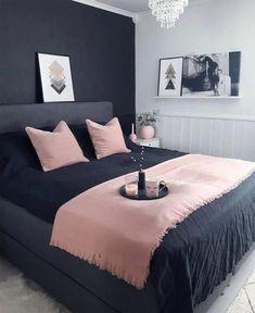 Simple Master Bedroom Design Ideas For Inspirations – Home Design Room Ideas Bedroom, Small Room Bedroom, Cozy Bedroom, Bedroom Colors, Home Decor Bedroom, Modern Bedroom, Master Bedroom, Contemporary Bedroom, Bedroom Designs
