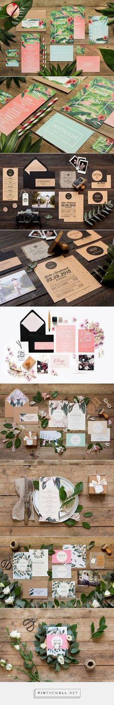 Free Printable Wedding Invitations #weddinginvitation