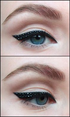 Eyeliner for your  day - Beauty blog http://berryvogue.com/makeup