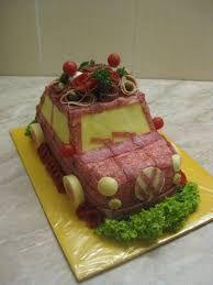 Resultado de imagen de slané dorty Sandwich Cake, Sandwiches, Salad Design, Tupperware Recipes, Baking Party, Veggie Tray, Food Displays, Food Decoration, Food Platters