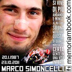 #memoriambook #marcosimoncelli #supersic #motogp #hondarc212vmotogp #honda