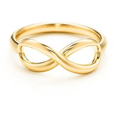 Tiffany Infinity Ring found on Polyvore