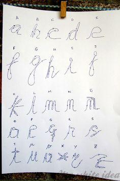 WIRE LOVE DIY | MY WHITE IDEA DIY. Letter wire craft.