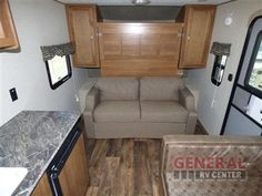 Camping Could Be So Cozy With The New 2017 Keystone RV Summerland Mini 1700FQ Travel Trailer at General RV | Birch Run, MI | #139960