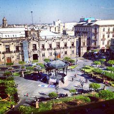 Bonita Guadalajara, Jalisco #Plaza de Armas #Guadalajara #Mexico