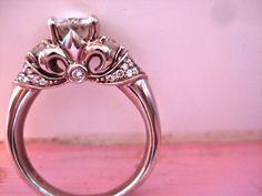 okay. I'm not a over the top kinda girl, but I love this ring...