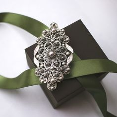 Silver brooch from Dubrovnik Silver Brooch, Dubrovnik, Filigree, Jewelery, Traditional, My Style, Gold, Fashion, Croatia