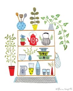 Flora Waycott is my friend and also a Lilla Rogers Studio artist. Her work is adorable!