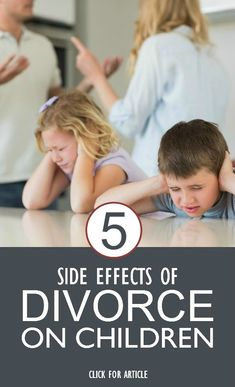 Side Effects Of Divorce On Children: Here we've listed down few possible negative impacts that your child may go through during the divorce. #parenting