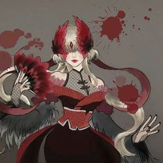 Game Character Design, Character Concept, Character Art, Pretty Drawings, Cool Drawings, Harley Quinn Drawing, Deadman Wonderland, Identity Art, Dark Fantasy