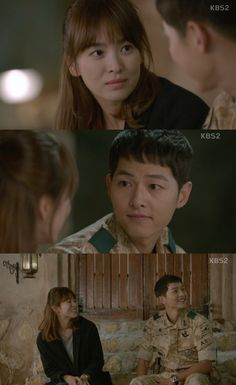 Ep 11 - What's your blood type? ~ I won't ever be able to hear this question without smiling any more #descendants of the sun #song joong ki #song hye gyo