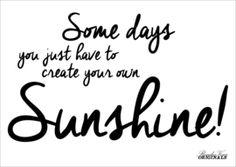 #freeprintable #spring #quote #somedaysyoujusthavetocreateyourownsunshine #card