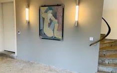 Blog von VerWANDlung Remmers, Malermeisterin Ursula Kohlmann Bad Godesberg, Ursula, Sconces, Wall Lights, Lighting, Blog, Home Decor, Black Tiles, Chandeliers